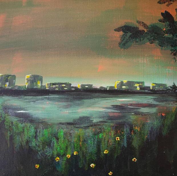 View Across the Marsh