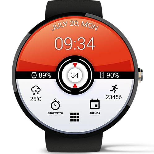 Pokemon Watch Face