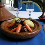 La cuisine - Plat (Tajine).JPG