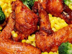 Spicy Chicken Wing w/ Drink | 8.99