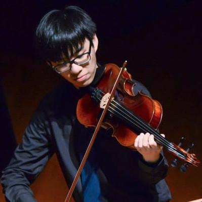 容博賢, 小提琴