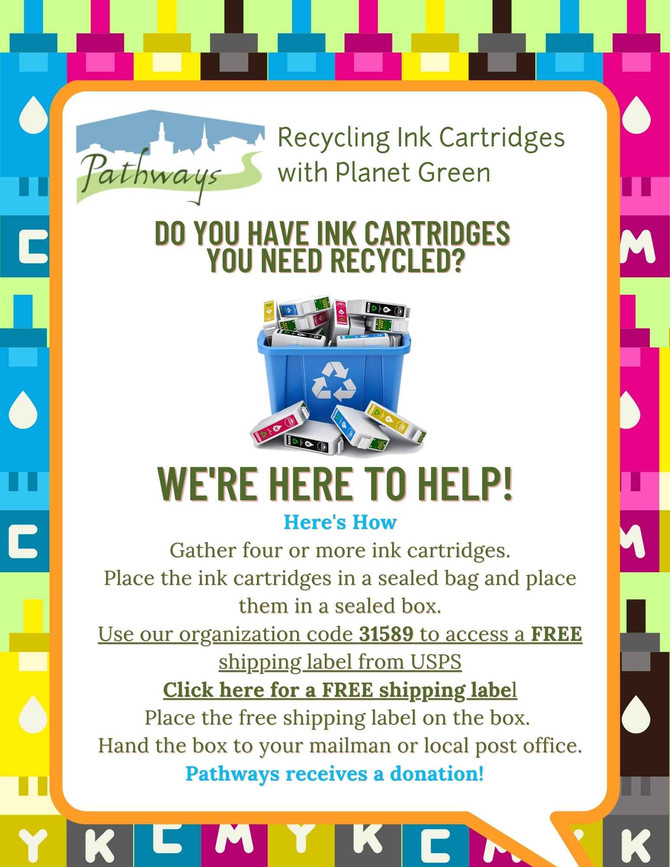 Recycling Ink Cartridges Fundraiser