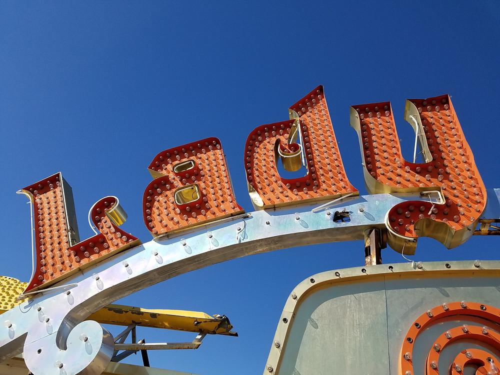 Neon Museum, Las Vegas, NV 3/29/17.  Copyright 2017 Marla Baxter Sanderson - SockOnARooster.com