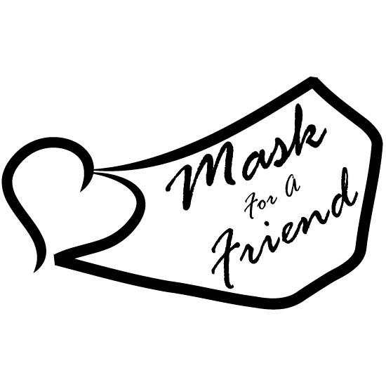 Maskforafriend.com logo Copyright 5/19.2020