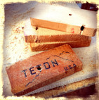 Teton made and milled 1967 pine studs. Made in the USA. Copyright 2015 Marla Baxter Sanderson - SOCKONAROOSTER.COM