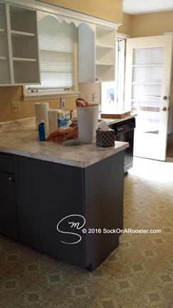 Kitchen remodel 2015 before demo day. Copyright 2015 Marla Baxter Sanderson - SockOnARooster.com