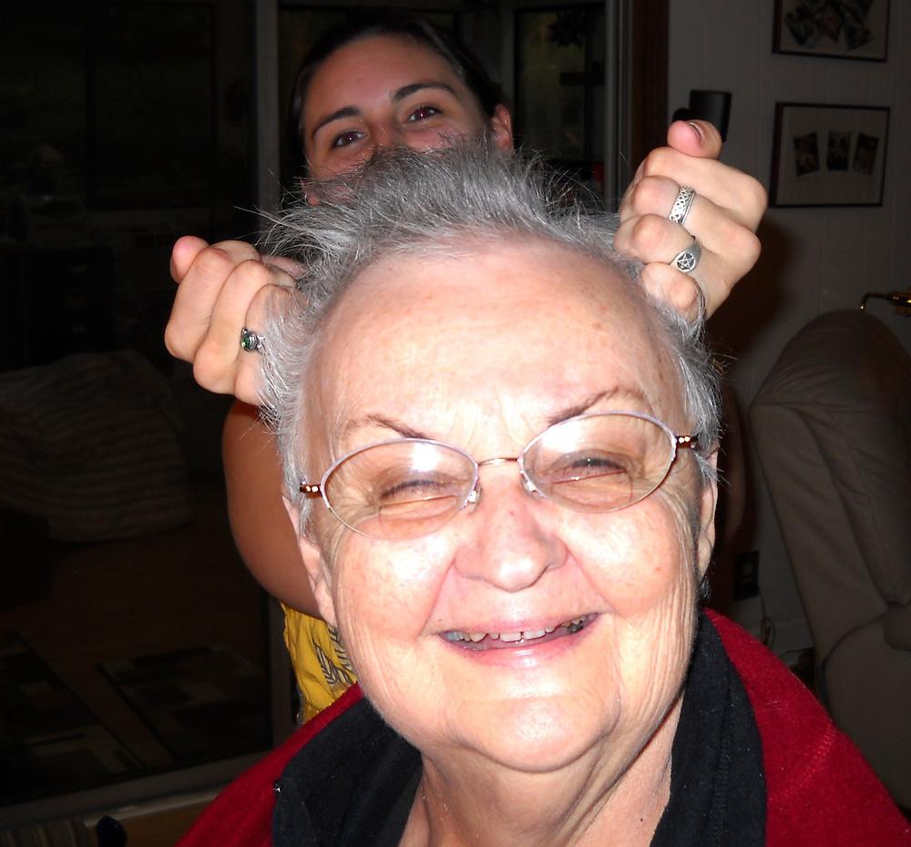 Mom & Melissa May, 2009 in Nashville, TN. Copyright 2009 Marla Baxter Sanderson - SockOnARooster.com