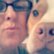 Marla Sanderson and her dog Bailey Sanderson  © 2019 Marla Baxter Sanderson