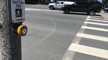 Pedestrian crossing street outside of crosswalk dies after being struck by vehicle in Santa Ana