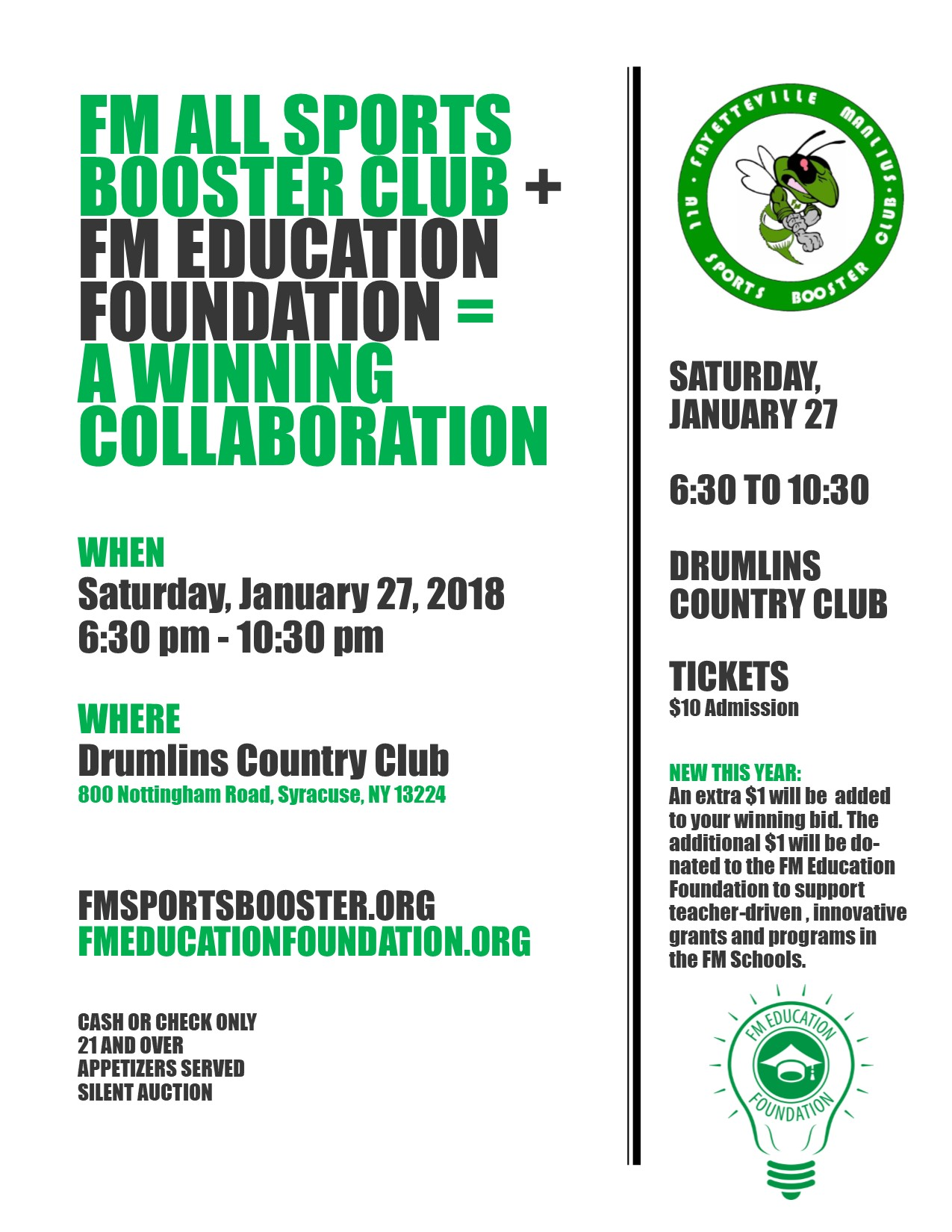 Sports Booster Event