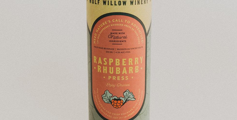 Raspberry Rhubarb Press