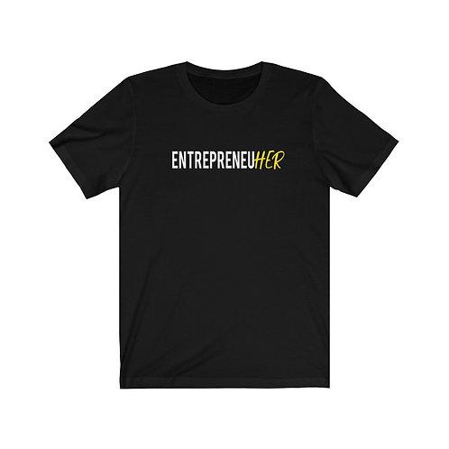EntrepreneuHER UNISEX Jersey Short Sleeve Tee