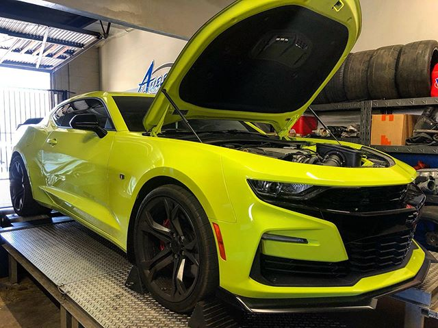 2019 Camaro getting all the goods with E