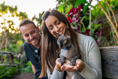Cat-Outdoor-Family-Portrait-at-Wendy's-Secret-Garden-in-Sydney