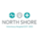 The logo of North shore Veterinary Hospital