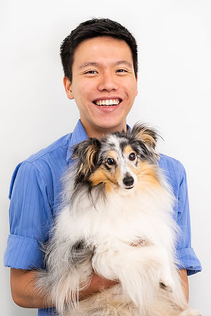 A staff photo taken of a vet in Sydney Vet Clinic