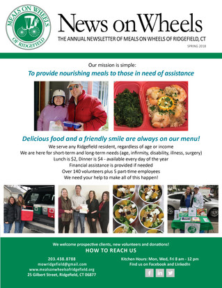 Our Annual Newsletter - Spring 2018