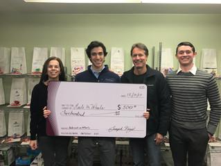 Ridgefield High School senior raises $500 for Meals on Wheels