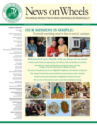 Our Annual Newsletter - Spring 2017