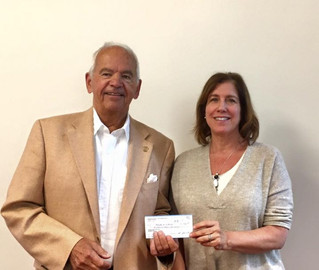 Rotary Club donates $1,500 to Meals on Wheels