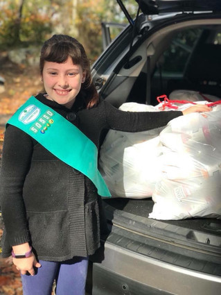 Local Girl Scout returns over 20,000 bottles to raise money for Meals on Wheels