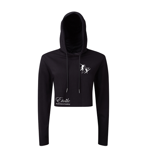 Adult Cropped Lightweight Hoody