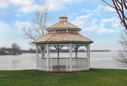 16ft Traditional Two-tier Gazebo