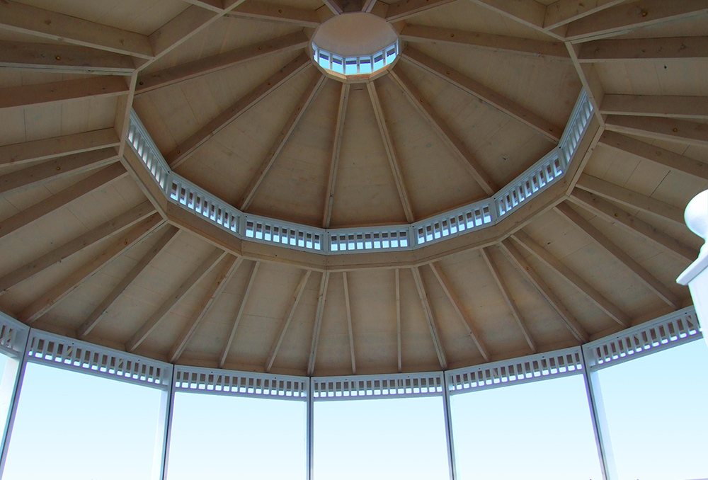 23ft Traditional Pavilion Ceiling