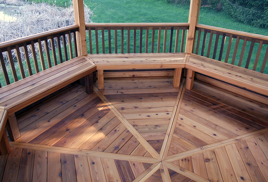 14ft Traditional Gazebo Floor