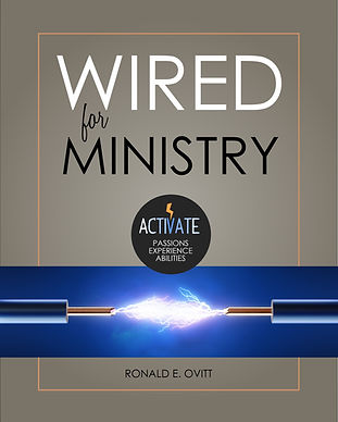 Wired for Ministry - front book cover -