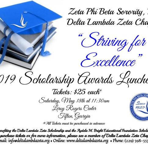 2019 Scholarship Awards Luncheon