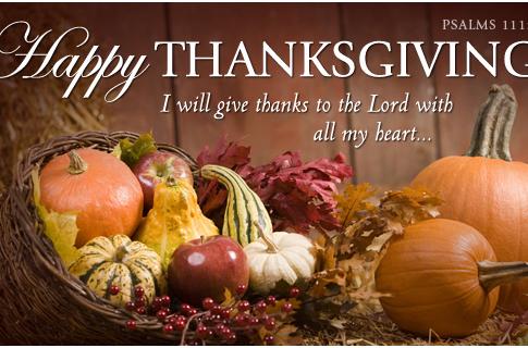 Happy Thanksgiving fromo Delta Lambda Zeta