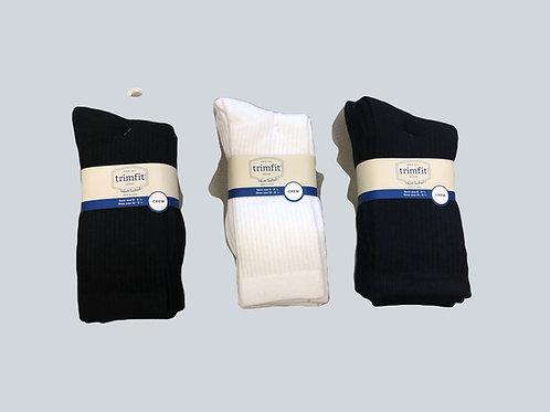 Trimfit 3-pack crew socks