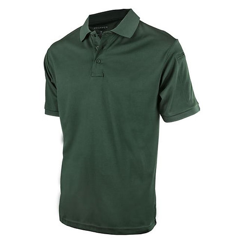 ST. PAUL DRY-FIT S/S POLO'S