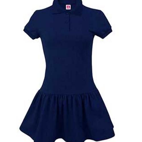 Strong Rock Knit Polo Dress PreK-2nd