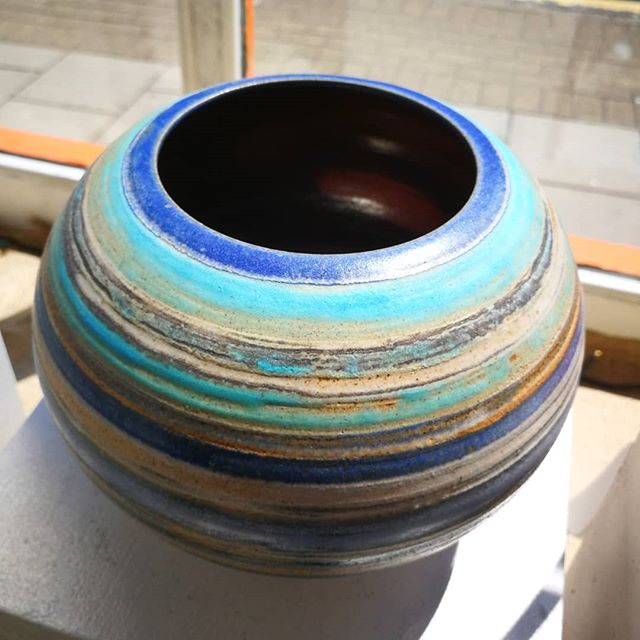 With _craigeylesceramics's large vessel