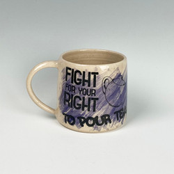 Fight for your right mug