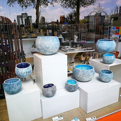 Guest Potter _kathcooperceramics has given us a lovely new selection of medium and large coil pots