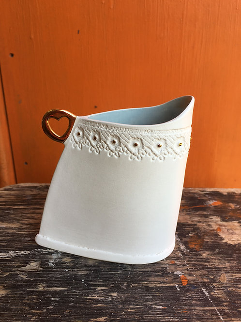 Frances Spice | Slab built Jug Medium