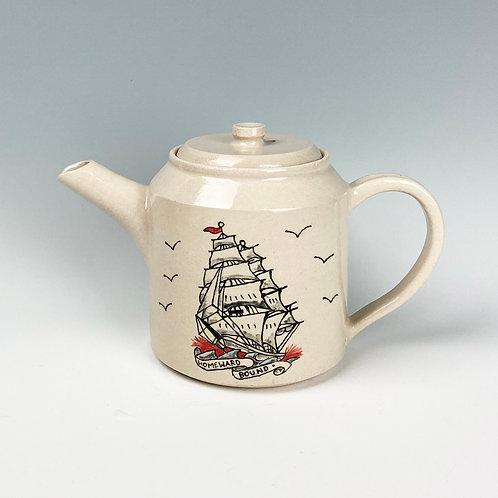 Emma Puddick | 'Homeward Bound' Teapot