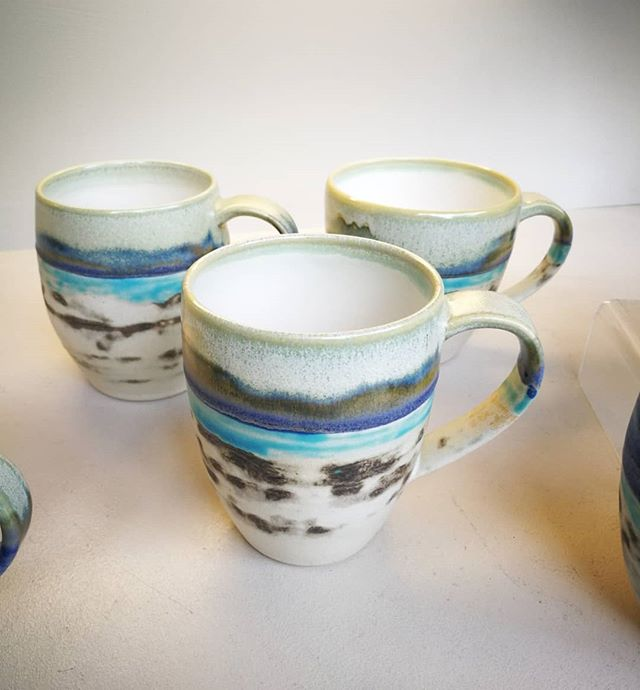 New mugs delivered by Craig Eyles during
