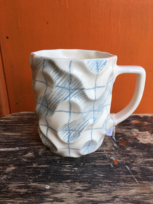 Slipcast Porcelain Large Mugs   Emilia Krankowska