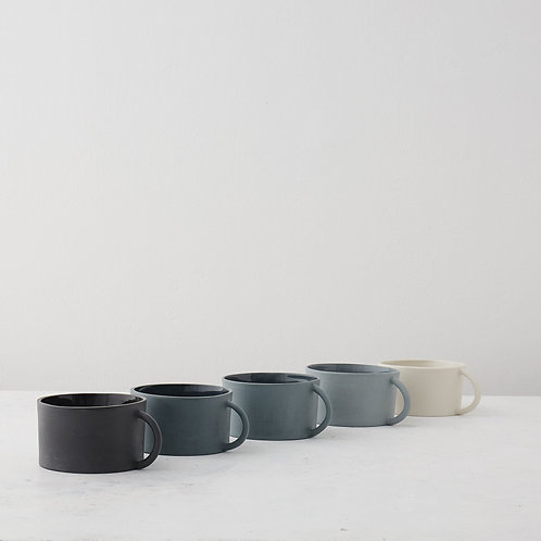 Georgie Scully Greyscale Spectrum Wide Mug