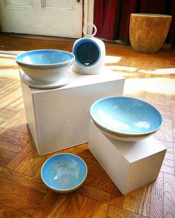 Lovely new olive bowls, bowls and salt pigs just delivered by _trevorlillistone 😍_._._