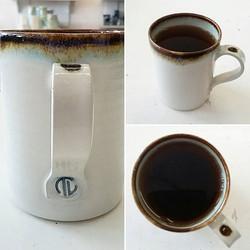 Tea tastes better in a handthrown mug._Well,  yes it does! _Mug by _trevorlillistone ._._