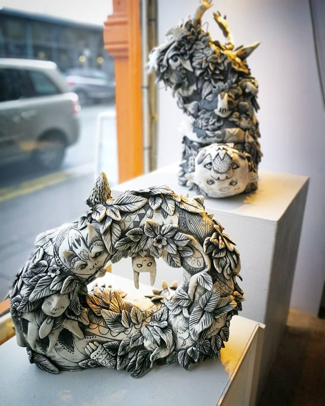 Guest Potter Lucy Baxendale's work is no