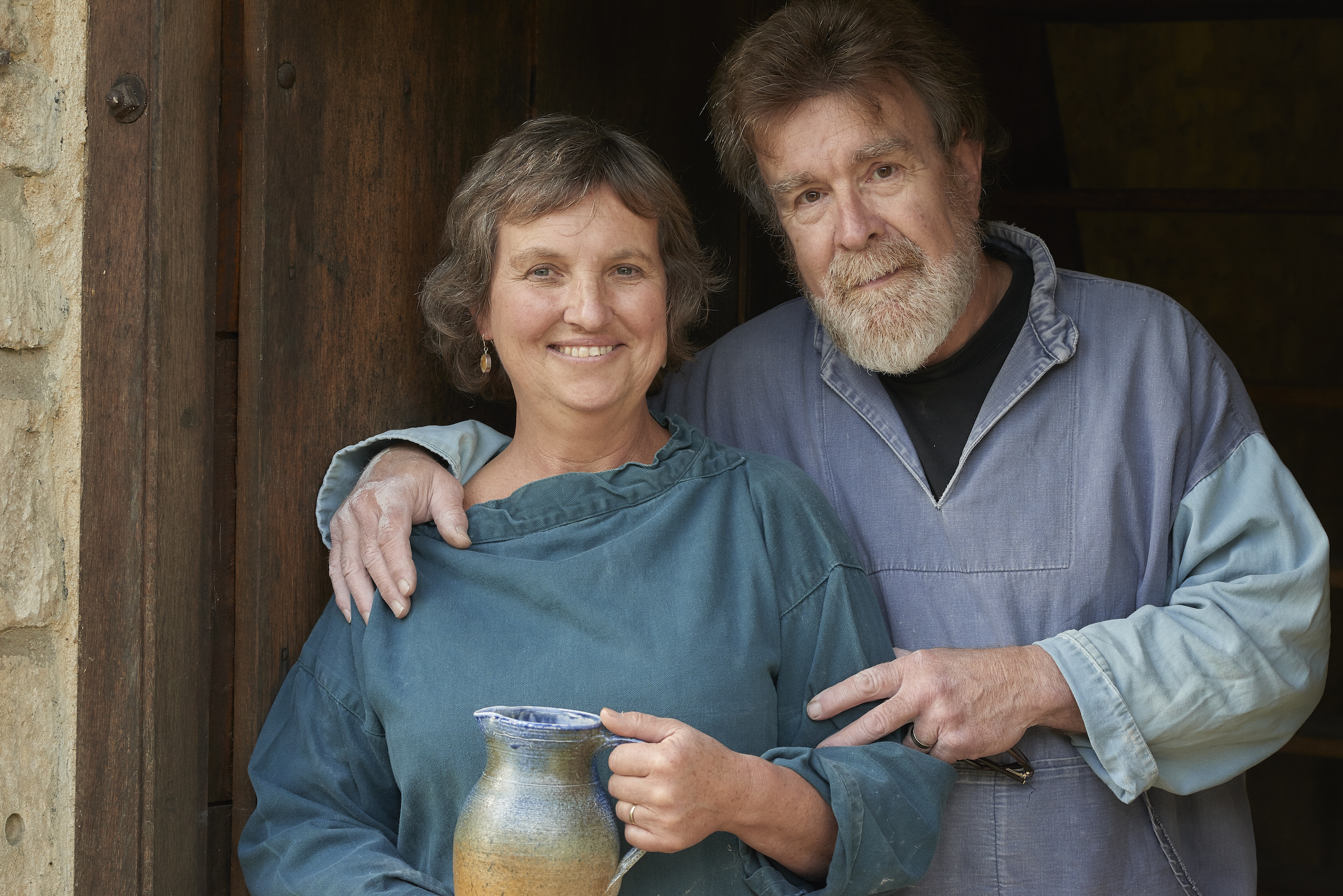 John and Penny West - Lansdown