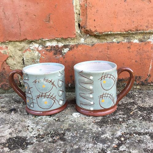 Bridget Williams Retrogrey Espresso Mug