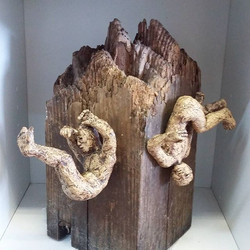 We're always amazed by the variety of work that our members produce! Here some new sculptural work b
