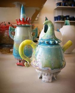 Wonderful new pieces by Jane Gibson Cera